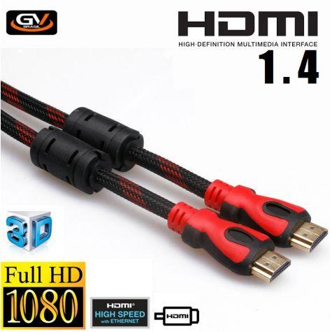 CABO HDMI-M/HDMI-M VS1.4 - 10,0MT C/ FILTRO/NYLON