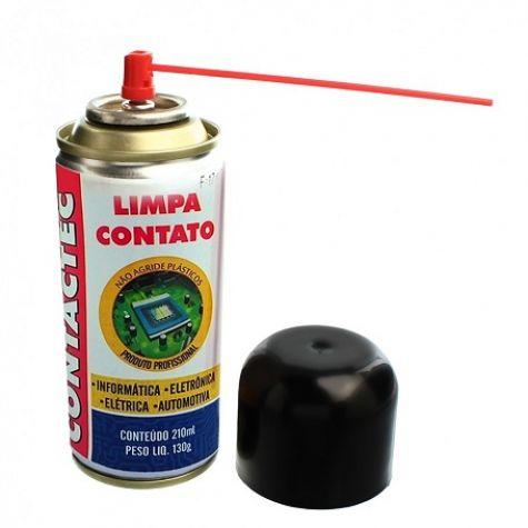 LIMPA CONTATO 130G/210ML CONTACTEC