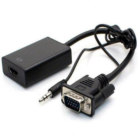 CABO CONVERSOR VGA + AUDIO P2 (R/L) X HDMI F