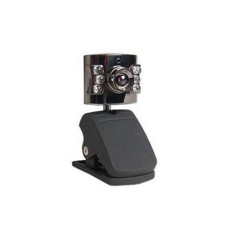 PC CAMERA - WEBCAM C/ MICROFONE E LED