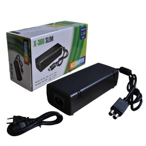 CARREGADOR/FONTE P/ GAMES X-BOX 360 SLIM