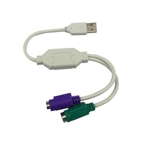 CABO CONVERSOR USB/2-PS2