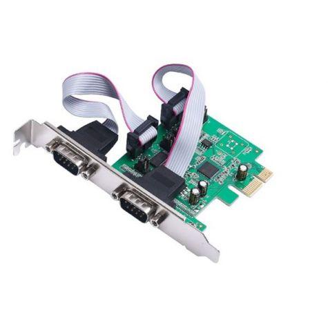 PLACA PCI-EXPRESS 2 SERIAIS (DB9 MACHO)