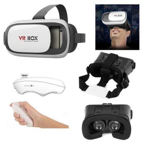 VR BOX - ÓCULOS 3D COM CONTROLE