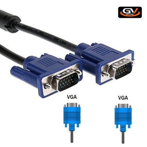 CABO VGA DB15M/ DB15M 1,8MT C/ FILTRO