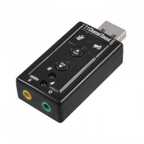 ADAPTADOR DE SOM USB 7.1