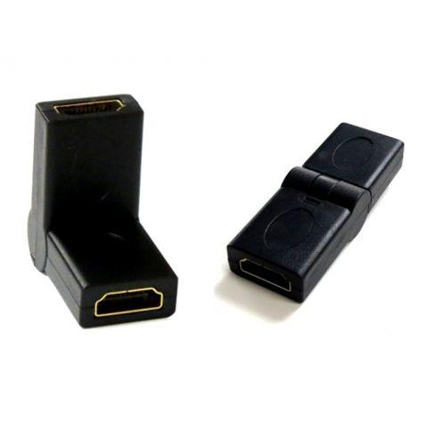 ADAPTADOR HDMI F x F ARTICULADO