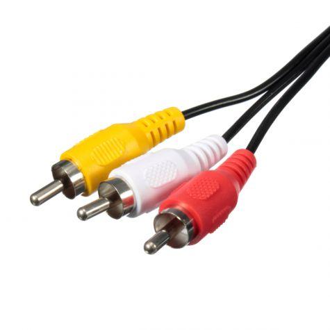 CABO 3-RCA X 3-RCA 5,0MT