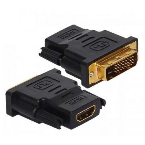 ADAPTADOR HDMI - F x DVI-D MACHO