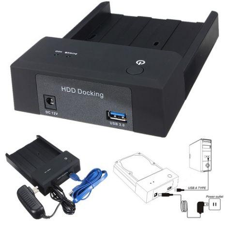 ESTAÇÃO DOCA P/ HD SATA 2.5 / 3.5 - USB 3.0